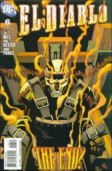 El Diablo (2008) 6-A by DC