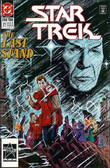 Star Trek (1989) 21-A by DC