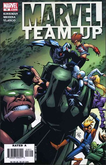 Marvel Team-Up (2005) 16-A by Marvel