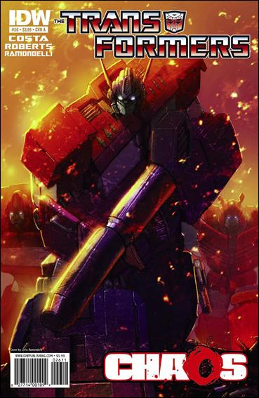 Transformers (2009) 26-A by IDW