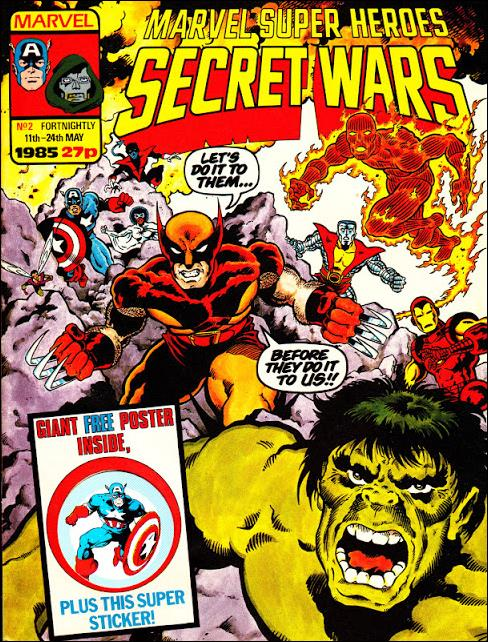 Marvel Super Heroes Secret Wars (UK) 2-A by Marvel UK