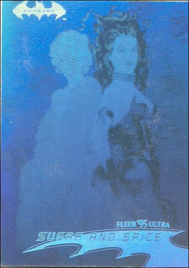 Batman Forever Fleer Ultra (Hologram Subset) 27-A by Fleer