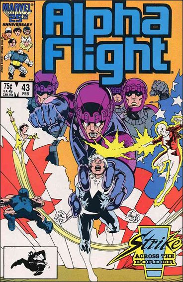 Alpha Flight (1983) 43-A by Marvel