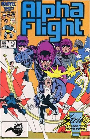 Alpha Flight (1983) 43-A