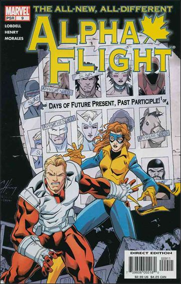 Alpha Flight (2004) 9-A by Marvel