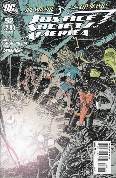 Justice Society of America (2007) 52-A by DC