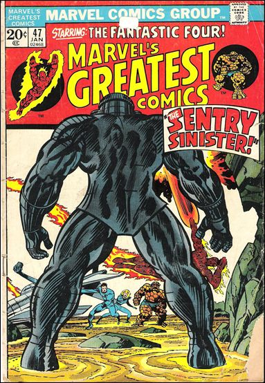 Marvel's Greatest Comics 47-A by Marvel