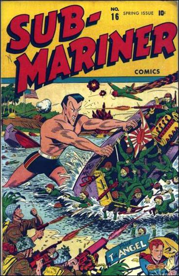 Sub-Mariner (1941) 16-A by Atlas