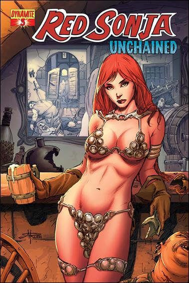 Red Sonja: Unchained 3-B by Dynamite Entertainment