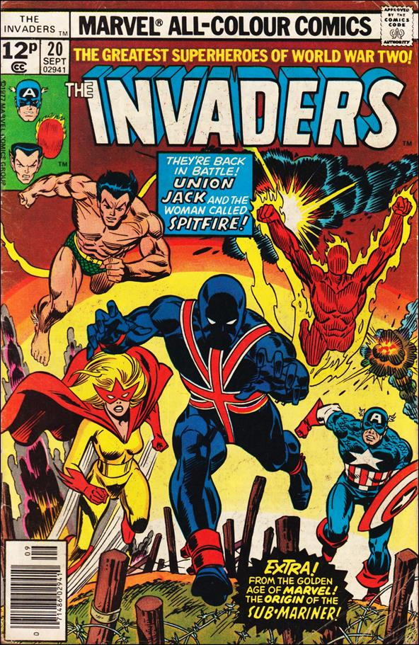 Invaders (1975) 20-C by Marvel