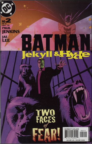 Batman: Jekyll & Hyde 2-A by DC