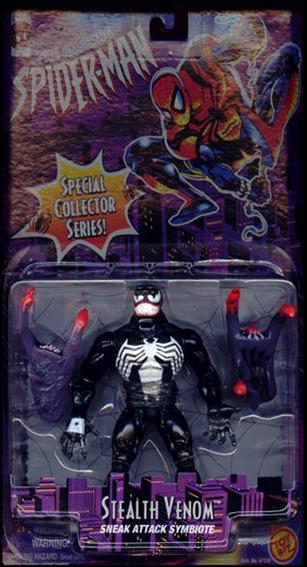Amazing Spider-Man (1996) Stealth Venom (Black) by Toy Biz