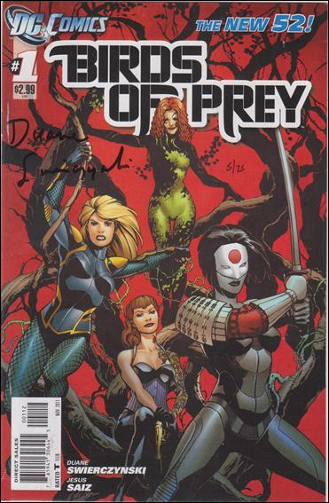Birds of Prey (2011) 1-C by DC
