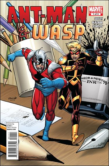 Ant-Man & Wasp 1-A by Marvel