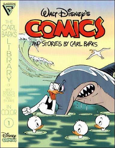 Carl Barks Library of Walt Disney's Comics and Stories in Color 1-A by Gladstone