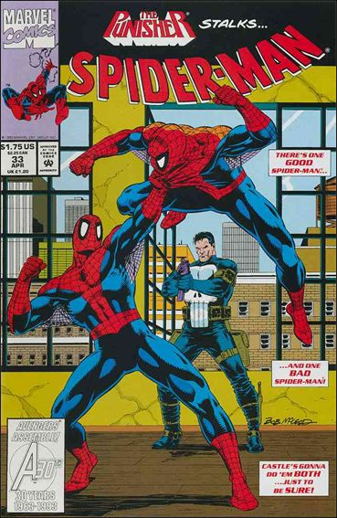 Spider-Man (1990) 33-A by Marvel