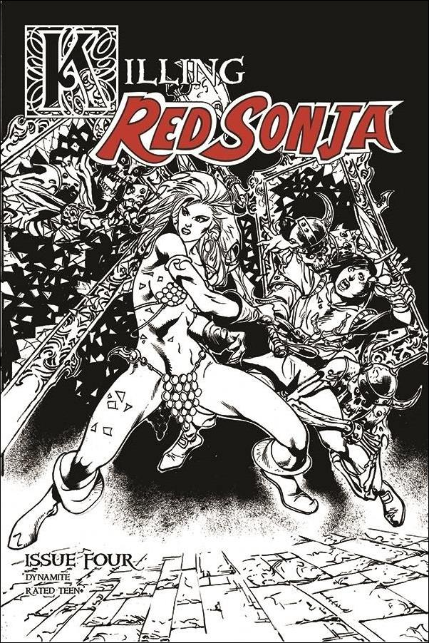 Killing Red Sonja 4-D by Dynamite Entertainment
