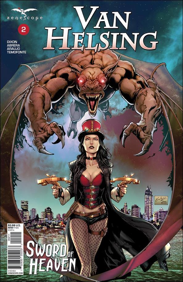 Van Helsing: Sword of Heaven 2-A by Zenescope Entertainment