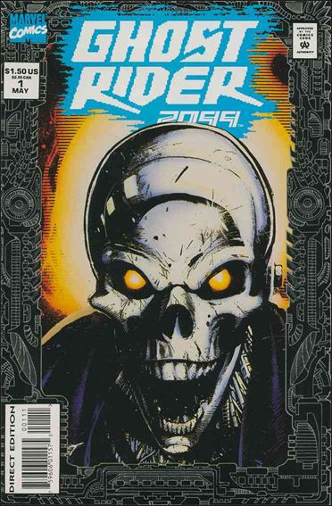 Ghost Rider 2099 1-B by Marvel