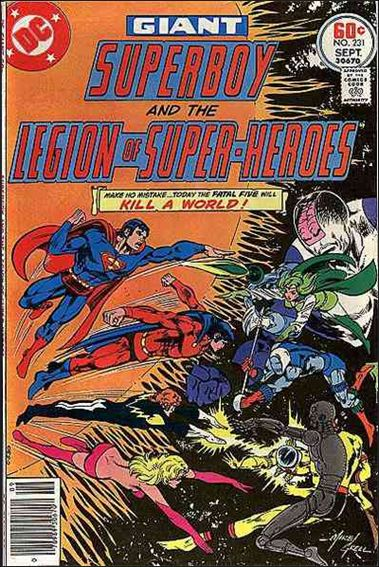 Superboy and the Legion of Super-Heroes 231-A by DC