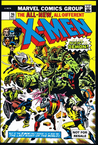 X-Men (1963) 96-C by Marvel