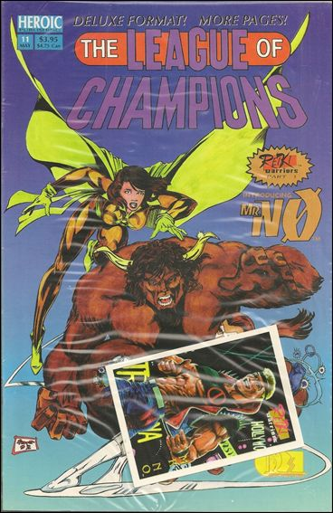 League of Champions 11-A by Heroic Publishing