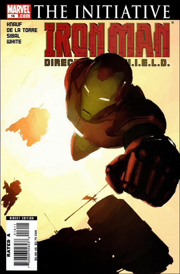 Invincible Iron Man (2005) 16-A by Marvel