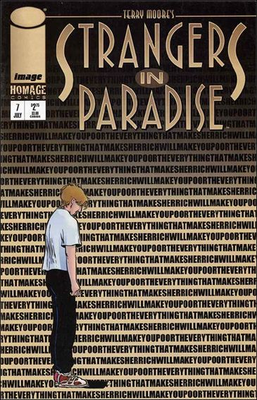 Terry Moore's Strangers in Paradise 7-A by Abstract Studio