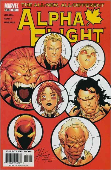 Alpha Flight (2004) 12-A by Marvel