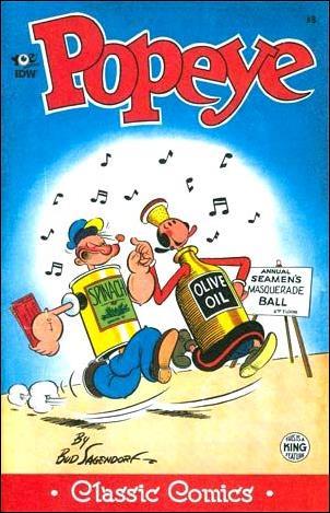 Classic Popeye 8-A by Yoe Books