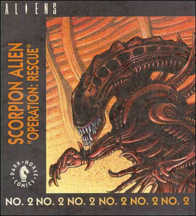 Aliens: Operation: Rescue 1-A by Dark Horse