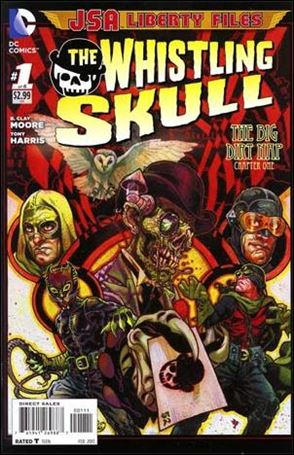JSA Liberty Files: The Whistling Skull 1-A