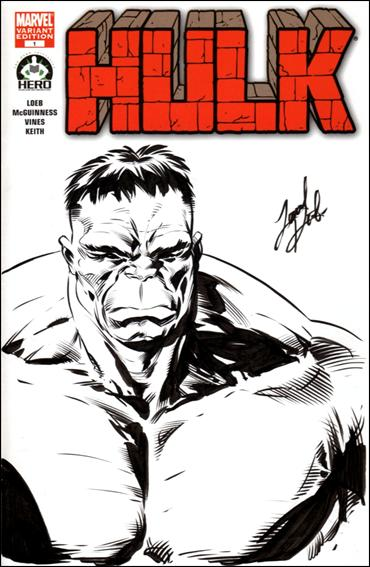 Hulk 100 (Hero Initiative) Cover Project 20-A by Marvel