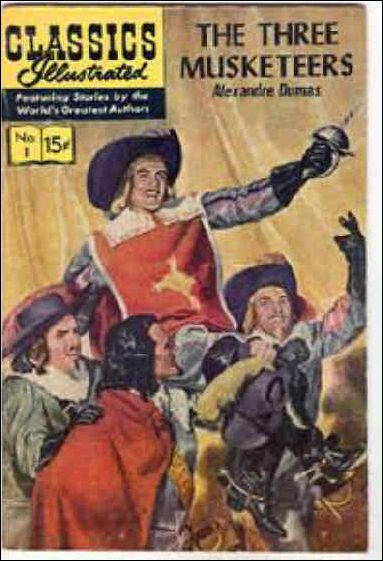 Classic Comics/Classics Illustrated 1-R by Gilberton