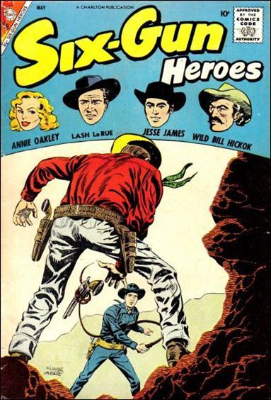 Six-Gun Heroes (1954) 46-A by Charlton