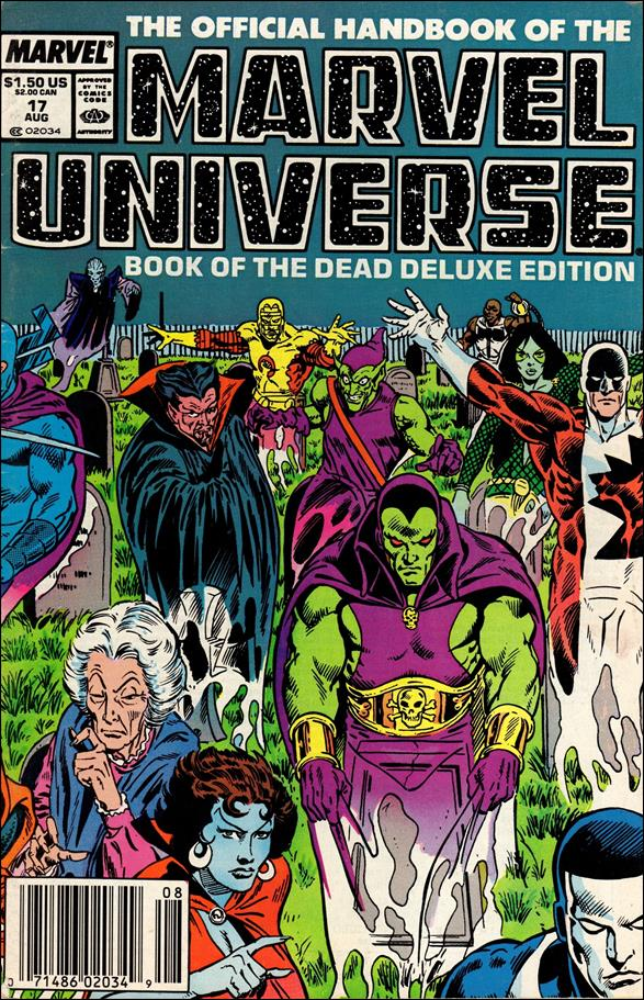 Official Handbook of the Marvel Universe (1985) 17-A by Marvel