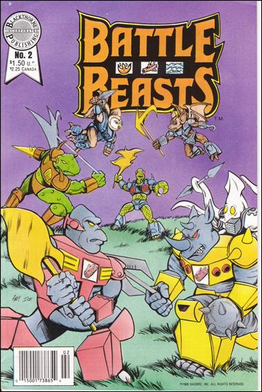 Battle Beasts (1988) 2-A by Blackthorne