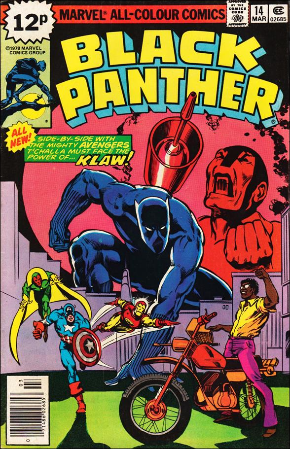Black Panther (1977) 14-B by Marvel