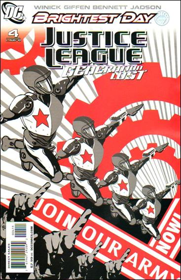 Justice League: Generation Lost 4-A by DC