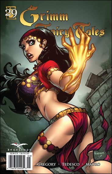 Grimm Fairy Tales 29-B by Zenescope Entertainment