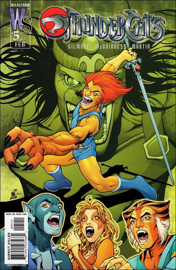 ThunderCats (2002) 5-B by WildStorm
