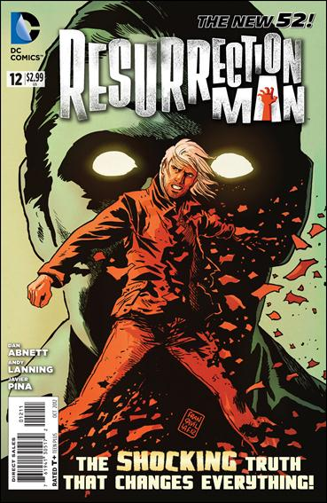 Resurrection Man (2011) 12-A by DC