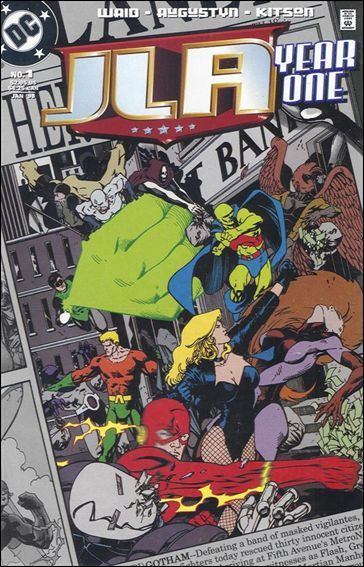 JLA: Year One 1-A by DC