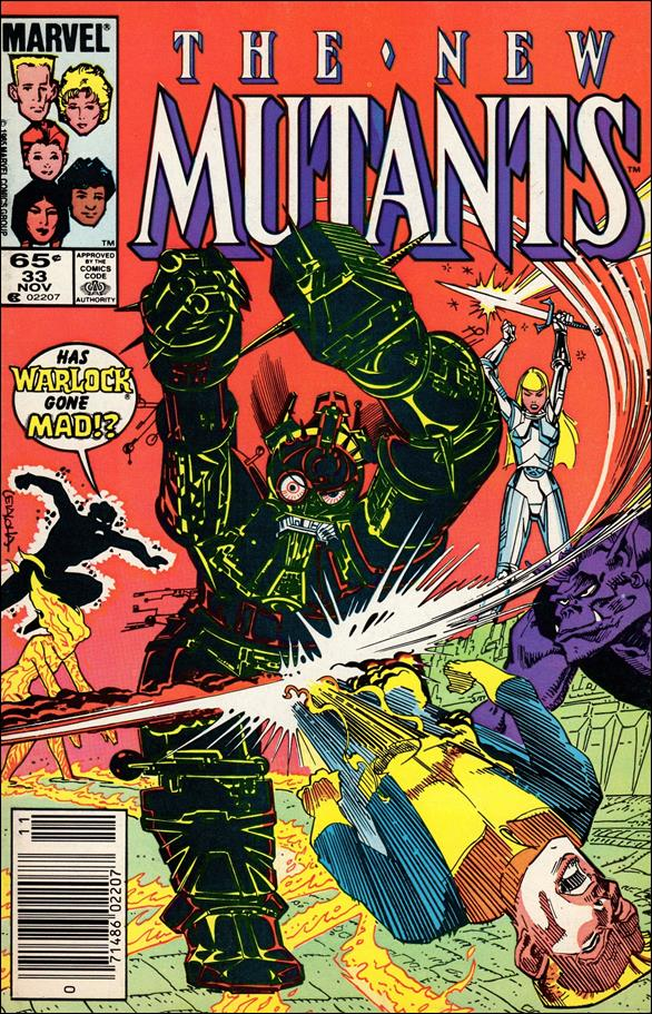 New Mutants (1983) 33-A by Marvel