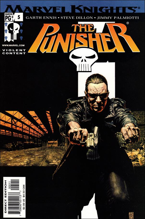 Punisher (2001) 5-A by Marvel