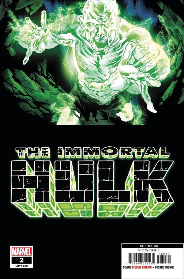 Immortal Hulk 2-F by Marvel