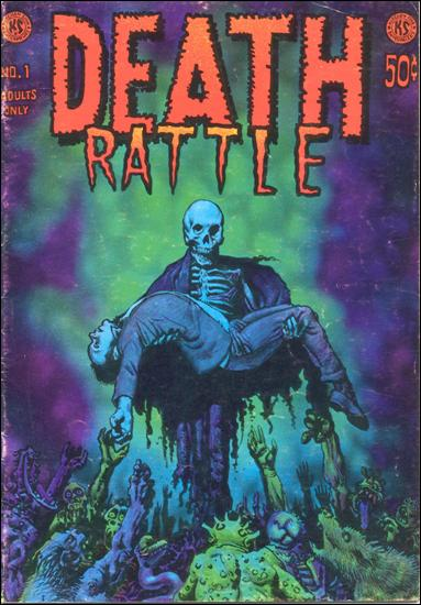 Death Rattle (1972) 1-A by Kitchen Sink