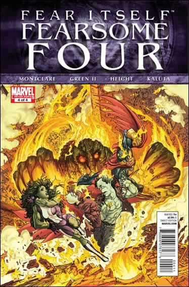 Fear Itself: Fearsome Four 4-A by Marvel