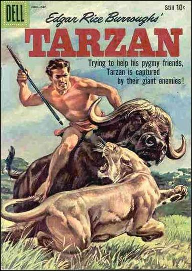 Tarzan (1948) 115-A by Dell