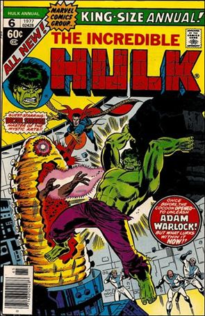 Incredible Hulk Annual  6-A